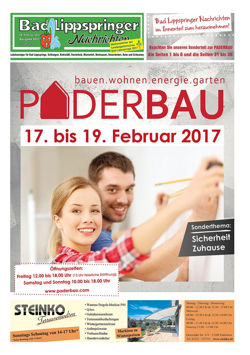 Bad Lippspringer Nachrichten 603 vom 08.02.2017