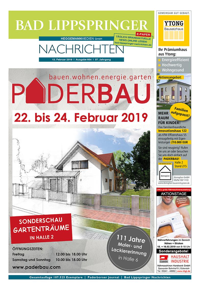 Bad Lippspringer Nachrichten 654 vom 13.02.2019