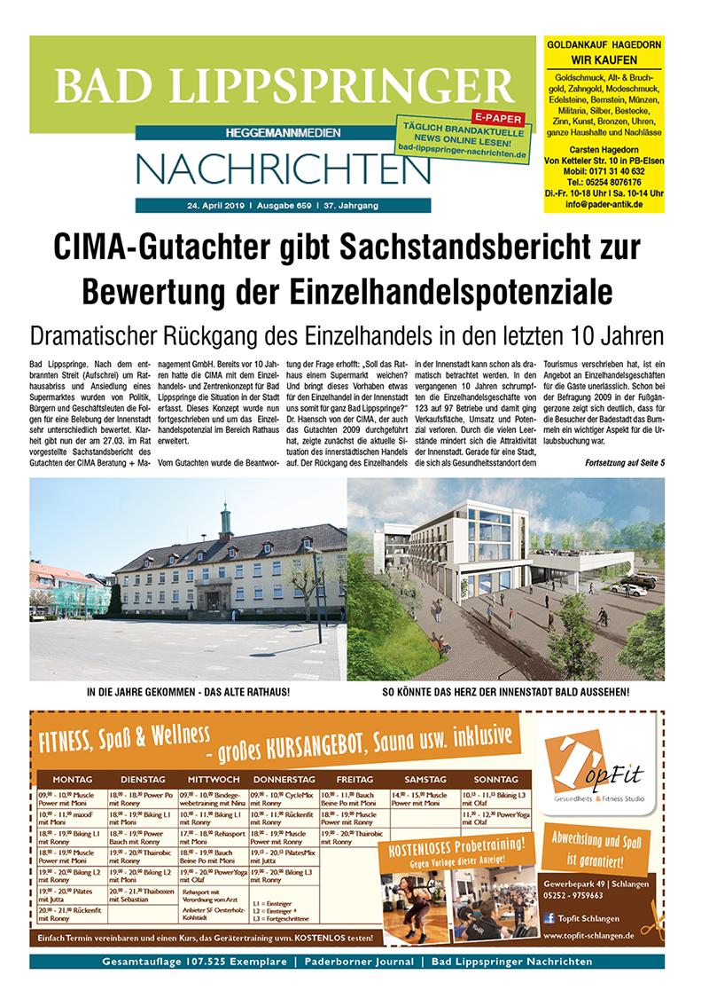 Bad Lippspringer Nachrichten 659 vom 24.04.2019