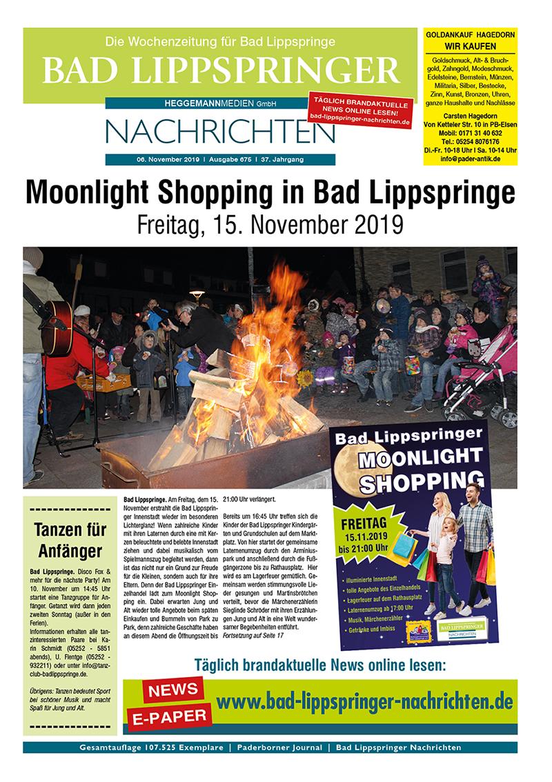 Bad Lippspringer Nachrichten 675 vom 06.11.2019