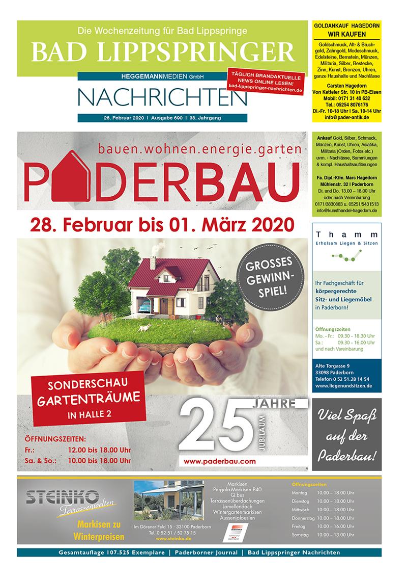 Bad Lippspringer Nachrichten 690 vom 26.02.2020