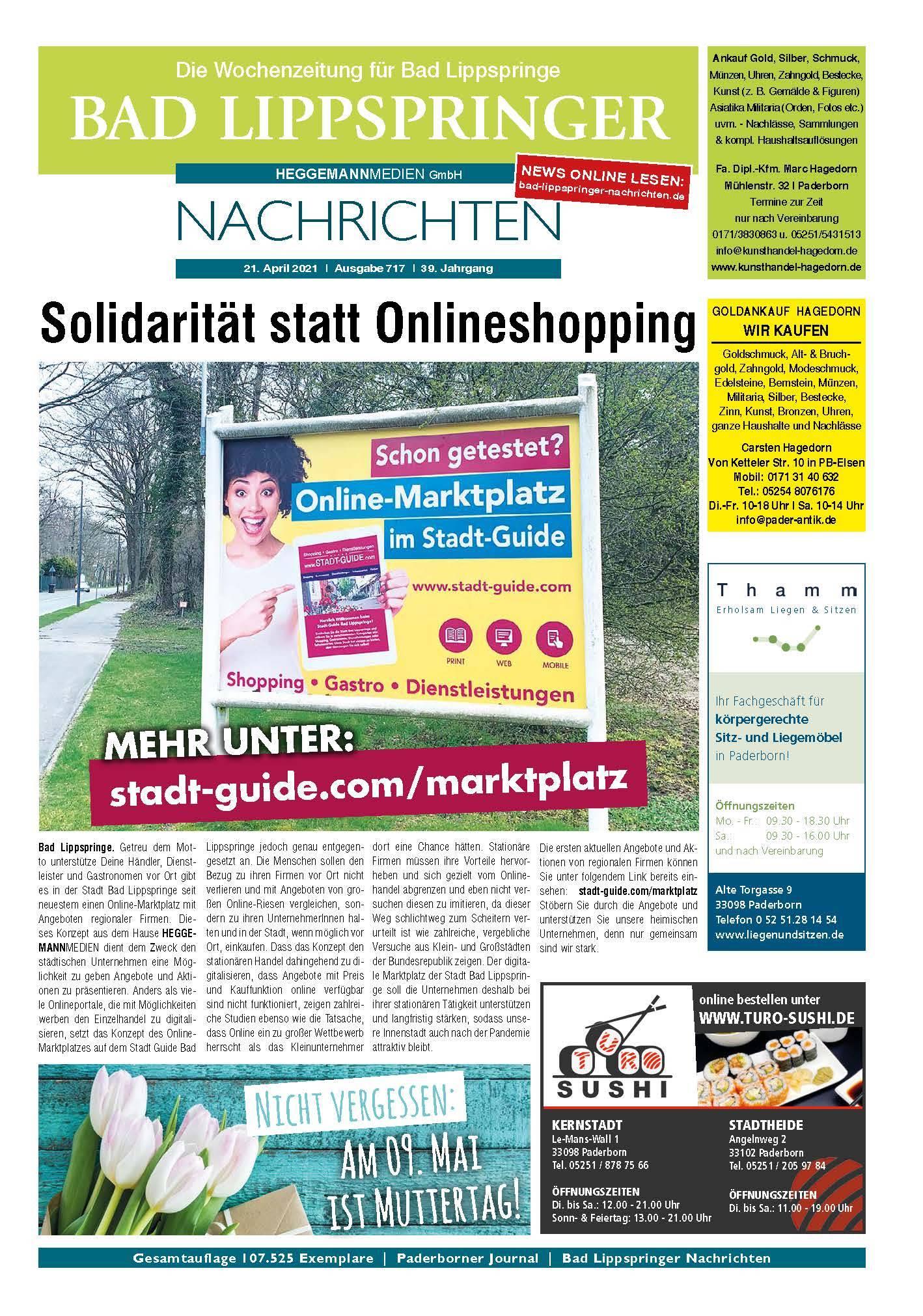 Bad Lippspringer Nachrichten Ausgabe 717