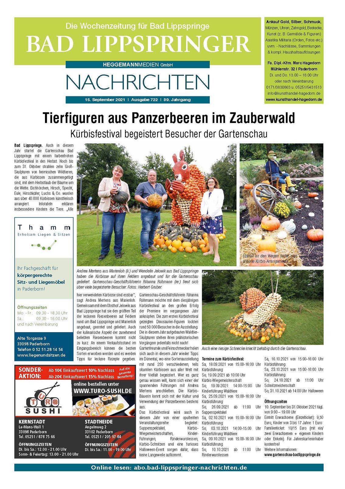 Bad Lippspringer Nachrichten Ausgabe 722